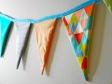 DIY Wimpelkette aus Stoff