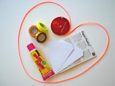 Paper Poetry DIY-Wimpelkette