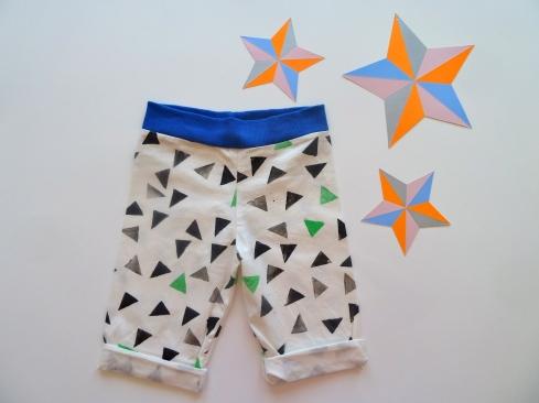 DIY - Hose für Kids nähen mit selbstbedrucktem Stoff