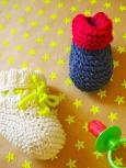 Babyschuhe stricken