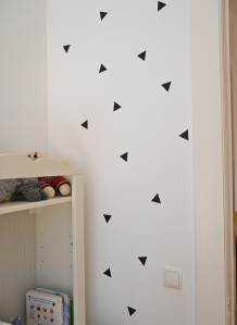 Wanddeko Dreiecke